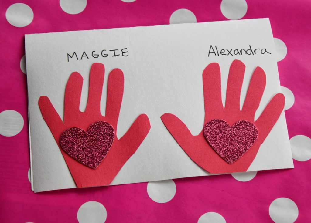 8 Valentine\u0027s Day Cards and Crafts for Kids - The Chirping Moms