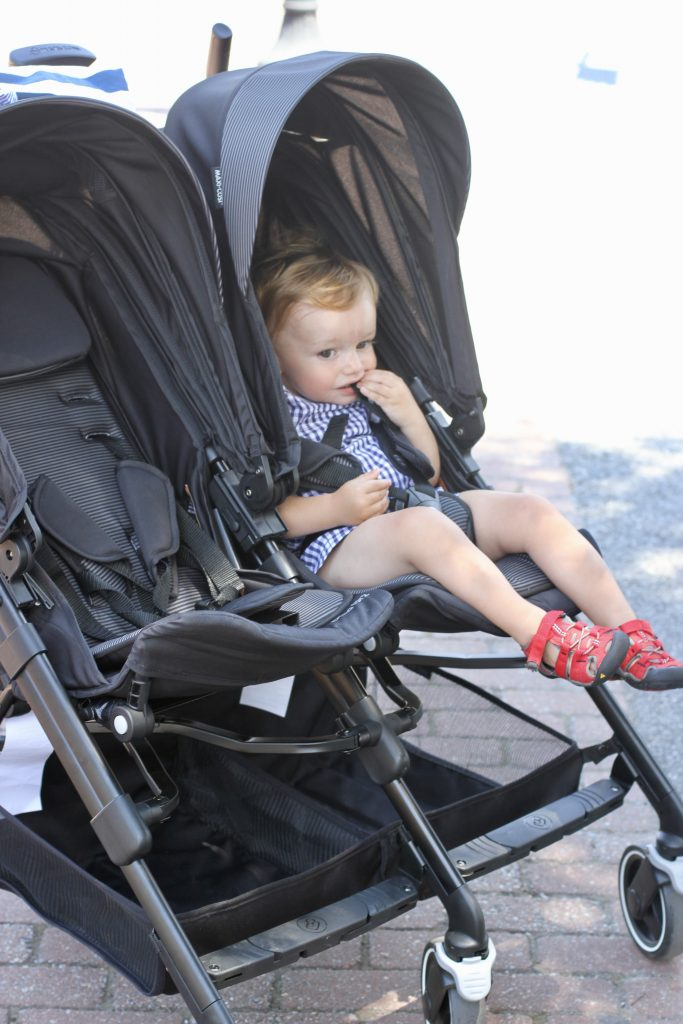 Infant Stroller Used The Maxi Cosi Dana For2 A Great New Double Stroller