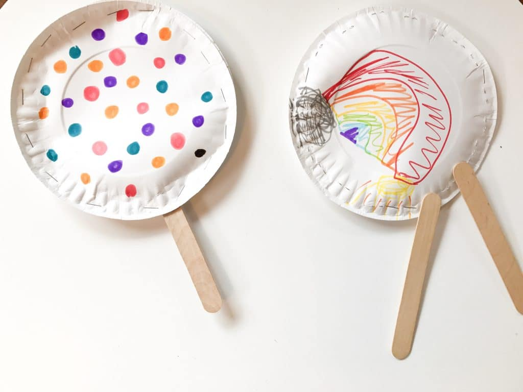 Easy Paper Plate Instruments A Fun Rainy Day Activity For