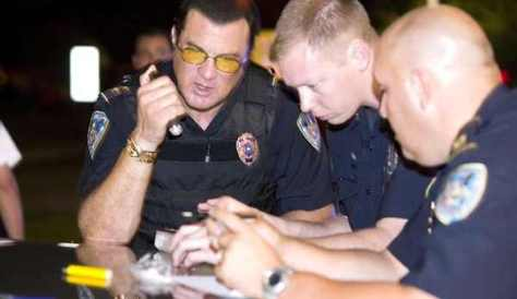 Action star Steven Seagal returned to his post as a Louisiana officer, which of course became the premise for a reality show.