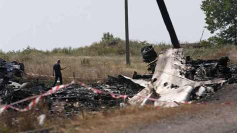 Flight Disater Investigators Comb Wreckage of Malaysia Flight MH17 in Ukraine