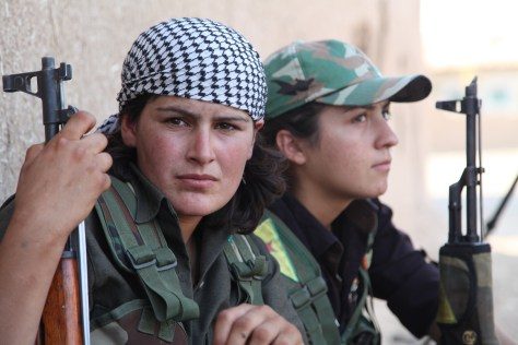 Faces of The Fierce Kurdish Fighters ISIS Fears Most