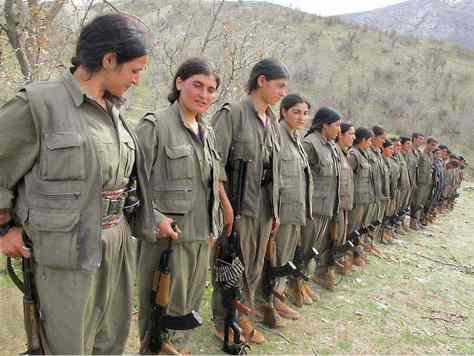 Kurdish Women Continue To Join The Fight Against ISIS