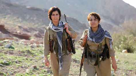 Kurdish Women Warriors Defy ISIS And Long To Send Them Directly To Hell