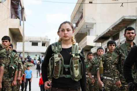 Kurdish Women Prove Themselves Invaluable