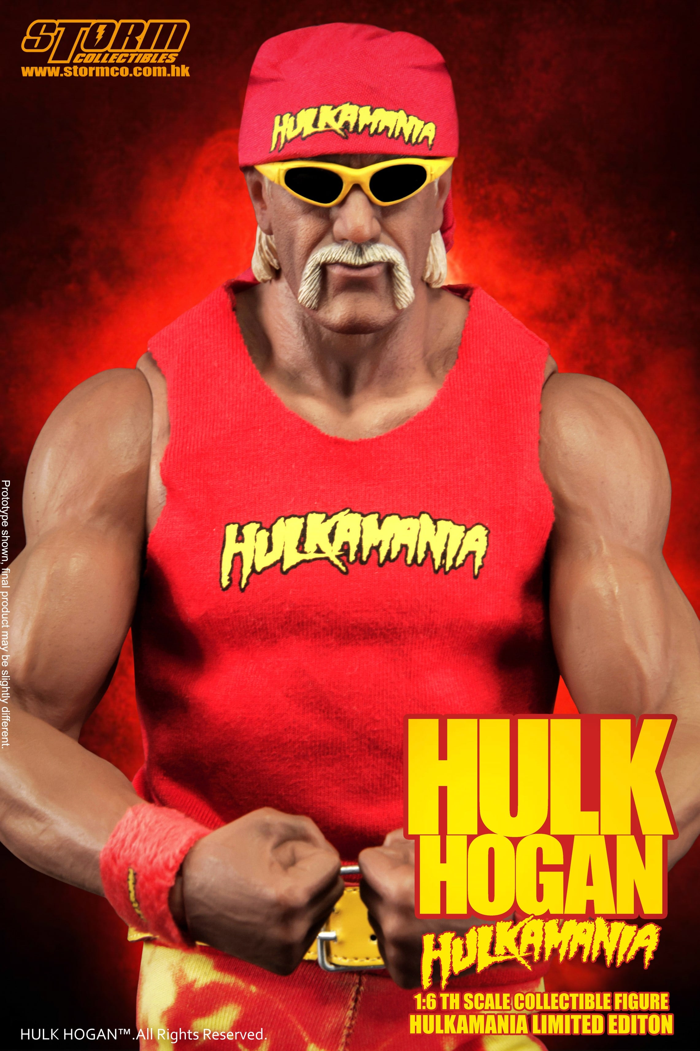 Wwe Hulk Hogan Storm Collectibles Wwe Hulk Hogan 1 6th Figure