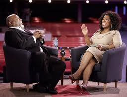 Oprah Winfrey and T.D. Jakes