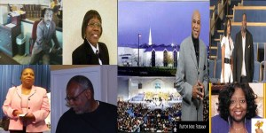 Clarence thomas, Denise Killen, Betty Peebles, Dr. Michael Freeman, Joel Peebls, the church lady