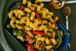 Magnificent Coconut Curry I Mean Come How Much Is That To Ilove Me Some I Love Me Some Pasta So Se Two Toger Was A Coconut Curry Cavatappi Chutney Life