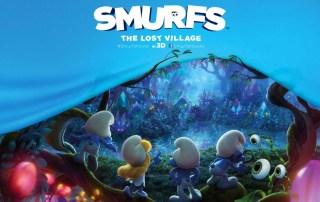 smurfs lost banner