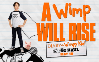 wimpy kid long haul banner