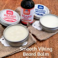 Smooth Viking Beard OIl, Balm & Conditioner. @brandbacker #SmoothViking
