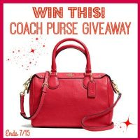 Enter This Fab Coach Purse Giveaway!