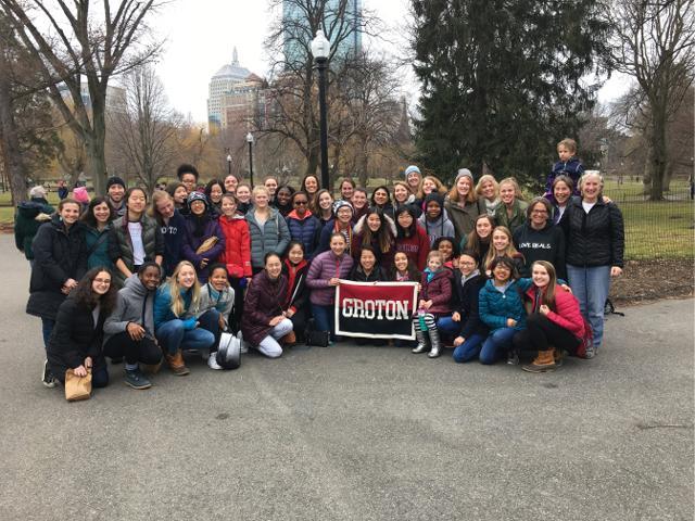 Groton joins Boston Women's March