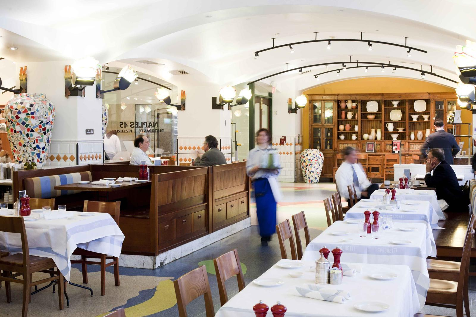 Cucina New York Grand Central Naples 45 Ristorante E Pizzeria Nyc Casual Dining In Nyc