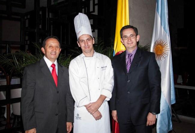 Celso Alejandro Jaque, Carlos Woida, Ricaro Menendez