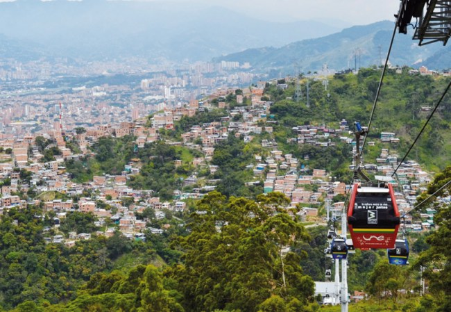 Medellin has made great strides in getting its inhabitants moving.