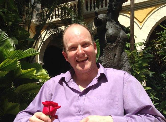 British gardener and novelist Tom Hart-Dyke