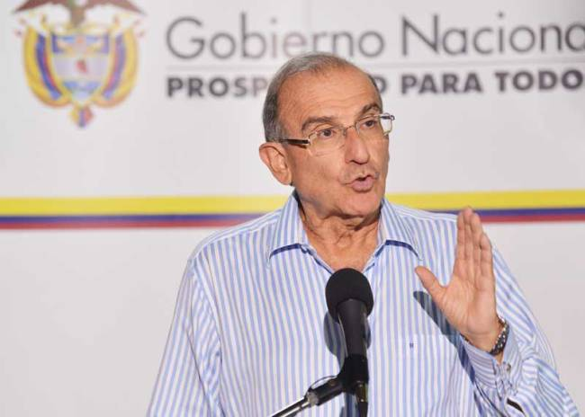 Colombian chief peace negotiator Humberto de la Calle.