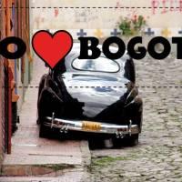 Bogotá as bumper sticker