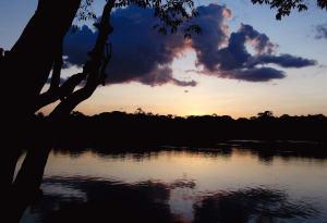 Sunset in Mitú