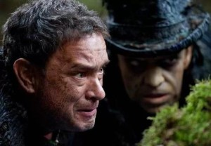 Tom Hanks and Hugo Weaving in Cloud Atlas