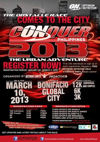 Conquer Philippines 2013 - The Urban Adventure