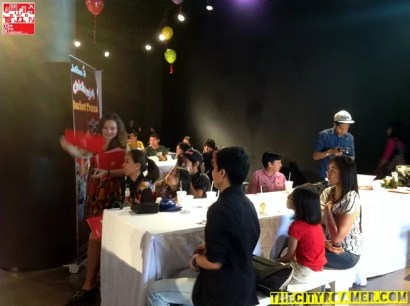 Media Guests at the Jollibee Christmas Party