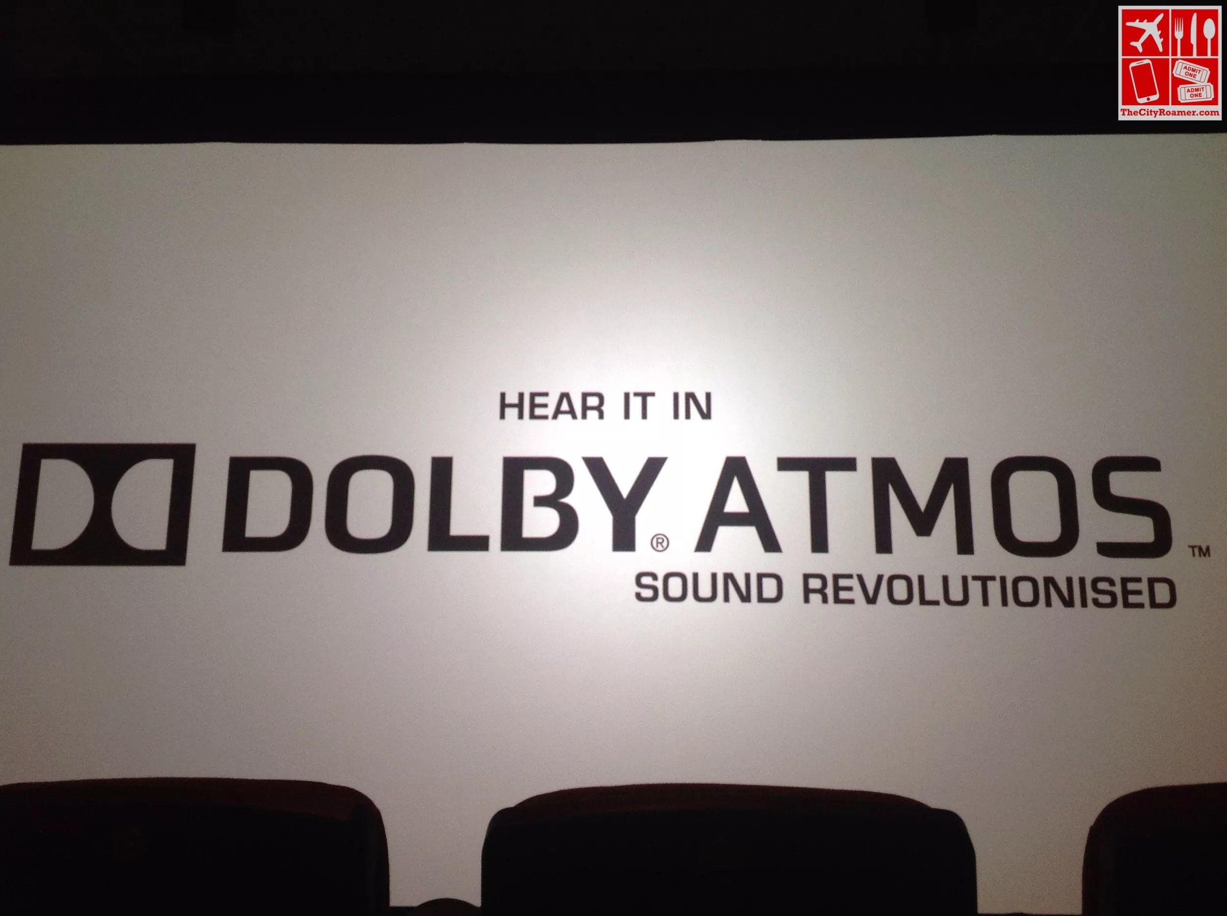 Hear the movies in Dolby Atmos