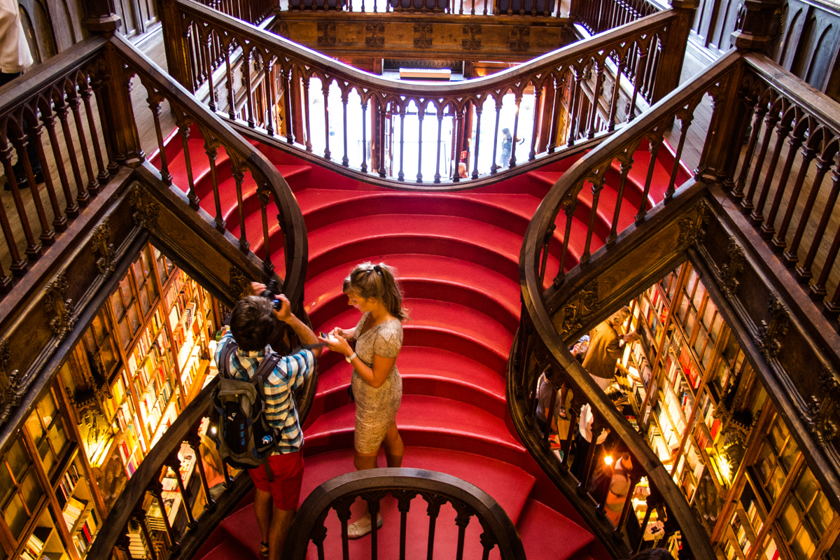 Librería Lello E Irmao Lello Irmão The Most Beautiful Bookshop In Porto