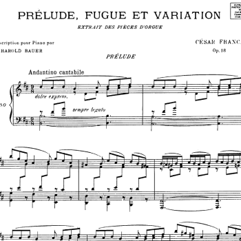 "Permalink to:""Style and substance"" in the new and serious French music: Franck's heavenly music"