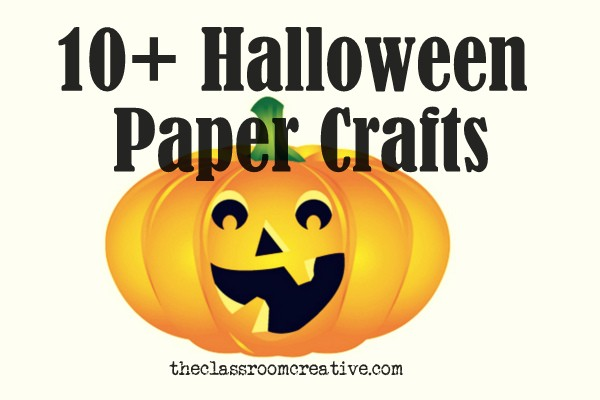 Halloween Paper Crafts {take 2}