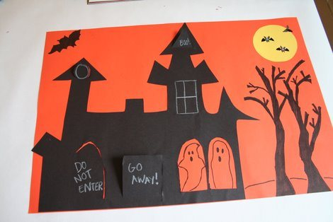 Haunted House Crafts For Kids