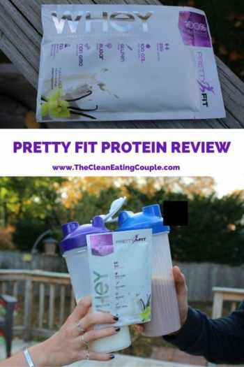 PRETTY FIT WHEY PROTEIN REVIEW