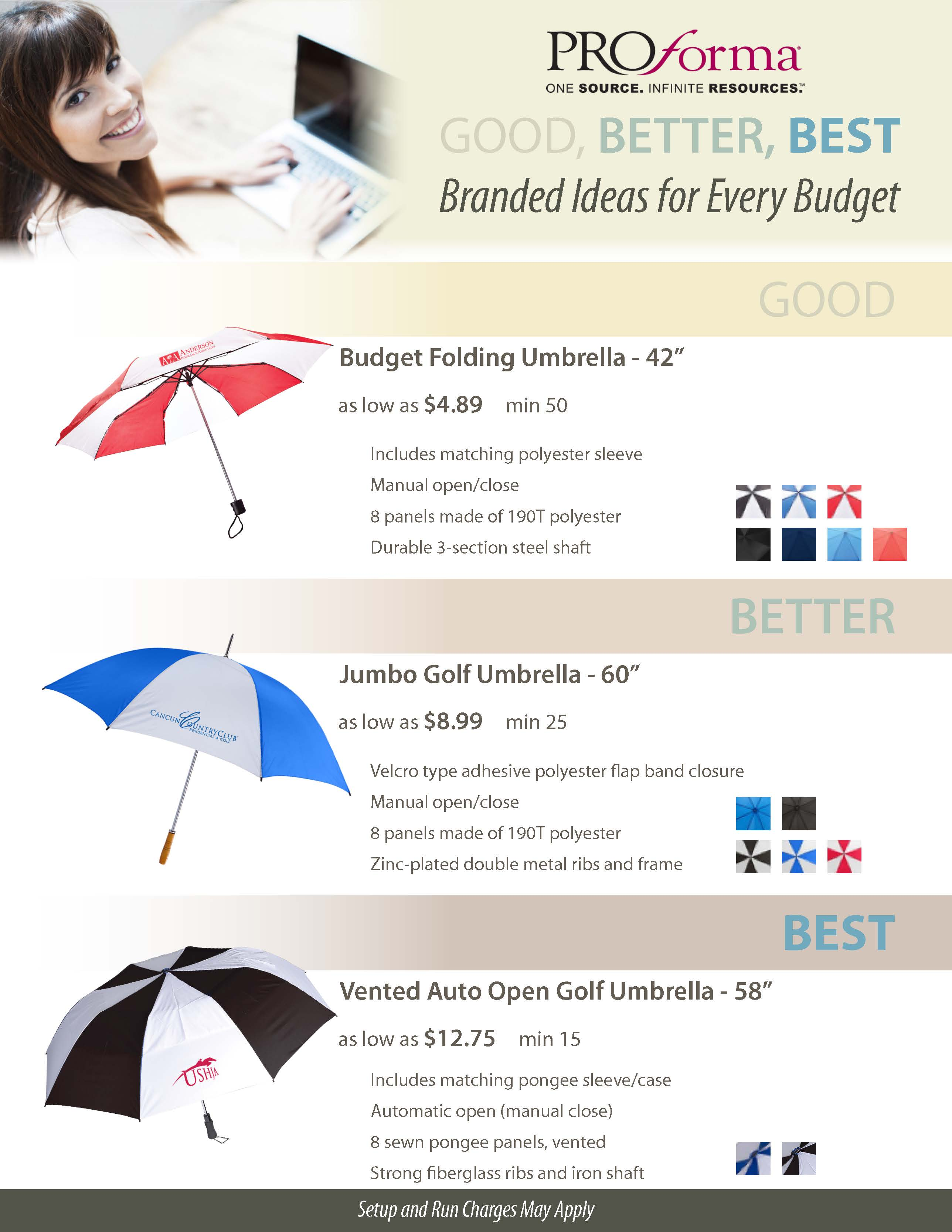 Good Better Best Umbrella Sale The Promo Clearance Blog