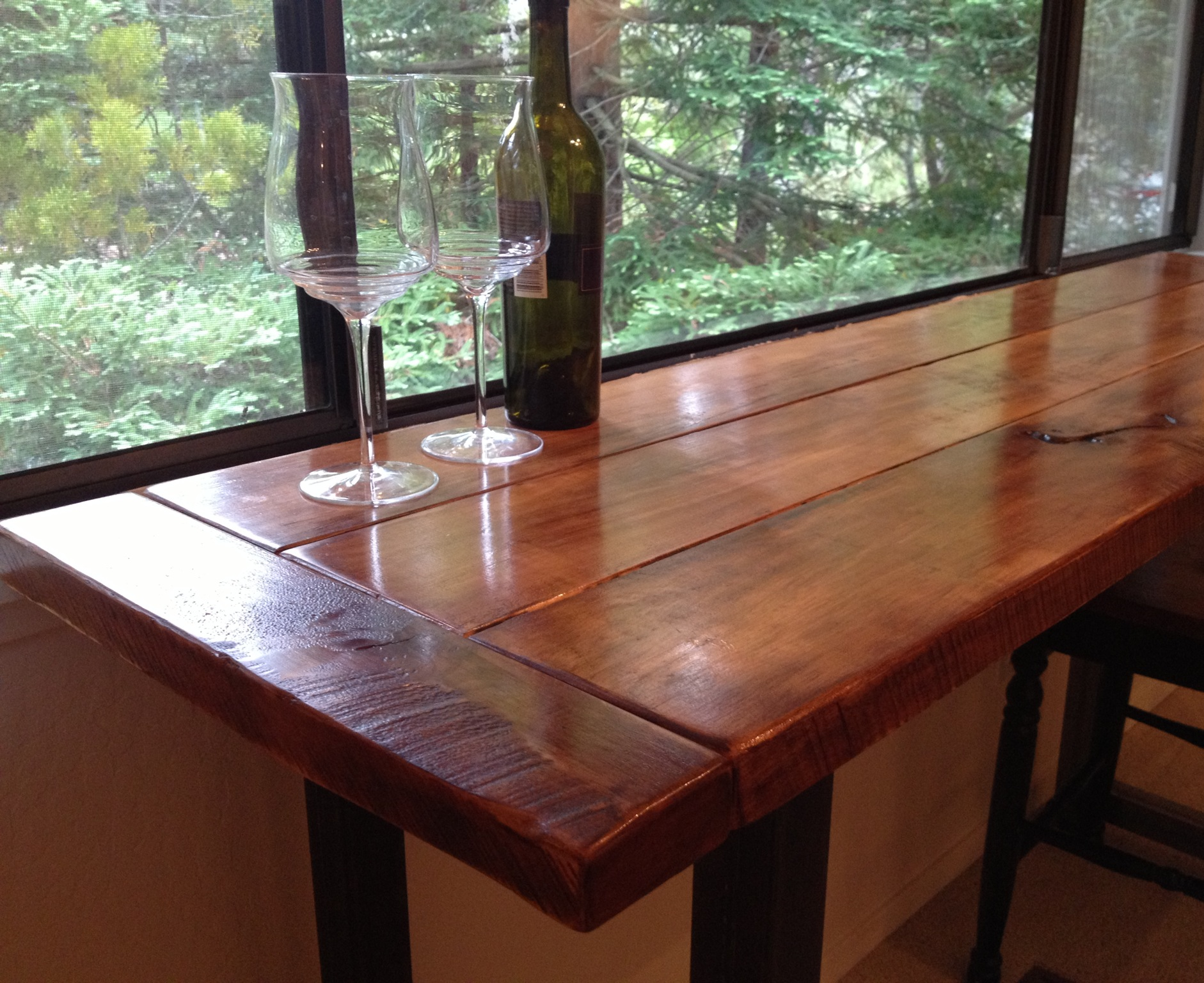 Smalle Tafel Reclaimed Wood San Diego The Coastal Craftsman