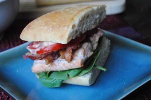 Salmon BLT 1