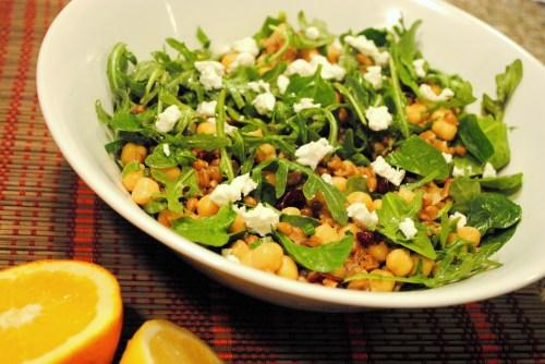 Farro Salad with Citrus Dijon Vinaigrette