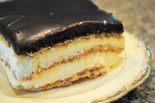 Easy Eclair Icebox Cake