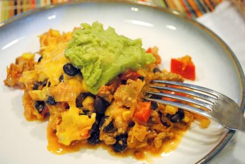 Mexican Veggie Impasta Bake