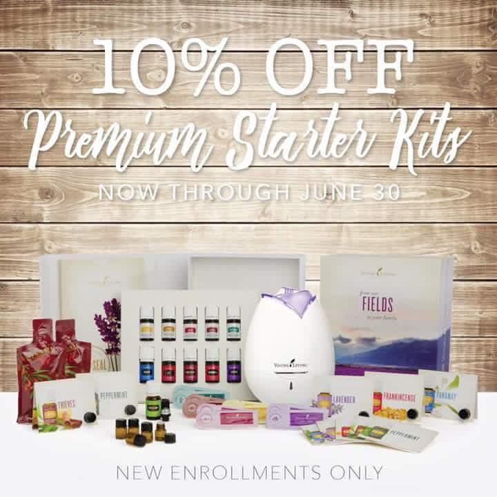 10% Off Essential Oils!