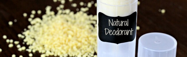 Homemade Deodorant without Baking Soda - If you've tried to make deodorant and found that your pits couldn't handle the baking soda, you're not alone! After a year of trying to handle the burning under my armpits I gave up and looked for a new homemade deodorant without baking soda. This new formula works and doesn't irritate my sensitive skin.