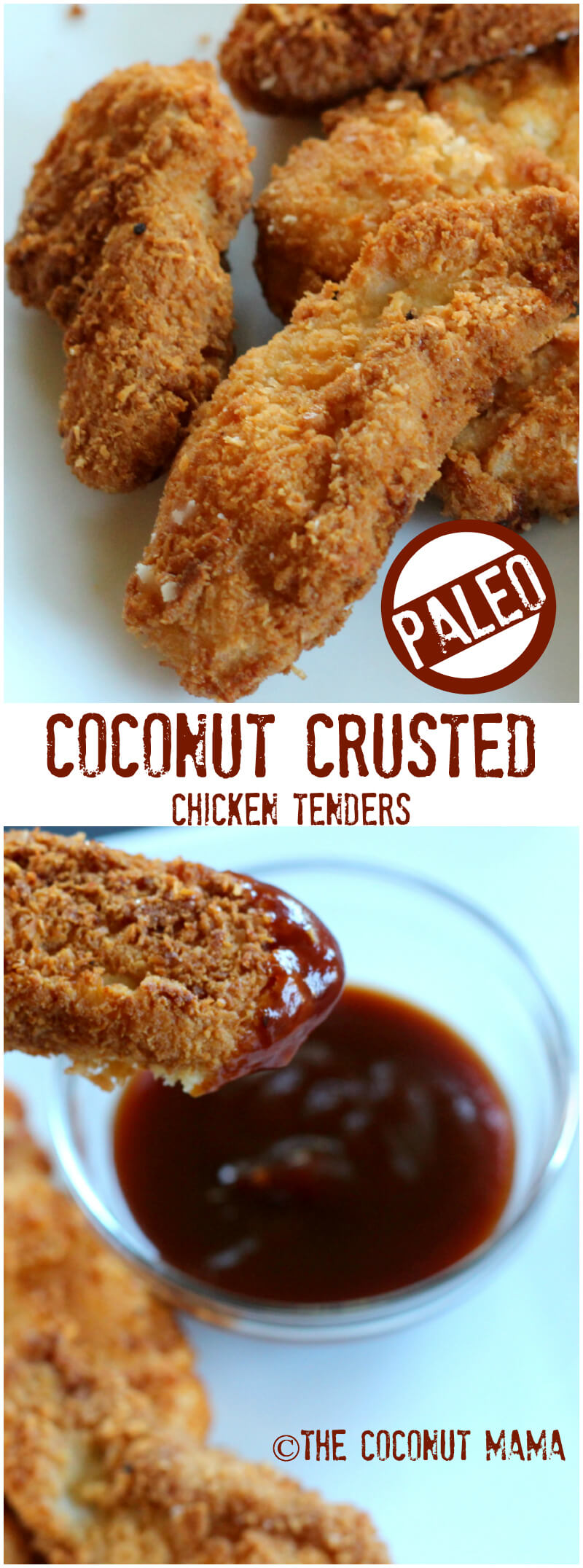 Coconut Chicken Tenders - The Coconut Mama