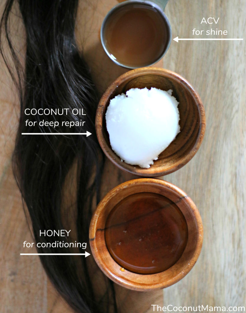 Coconut Oil Hair Mask Easy Diy Recipe Coconut Mama