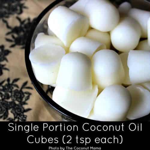 Single Portion Coconut Oil