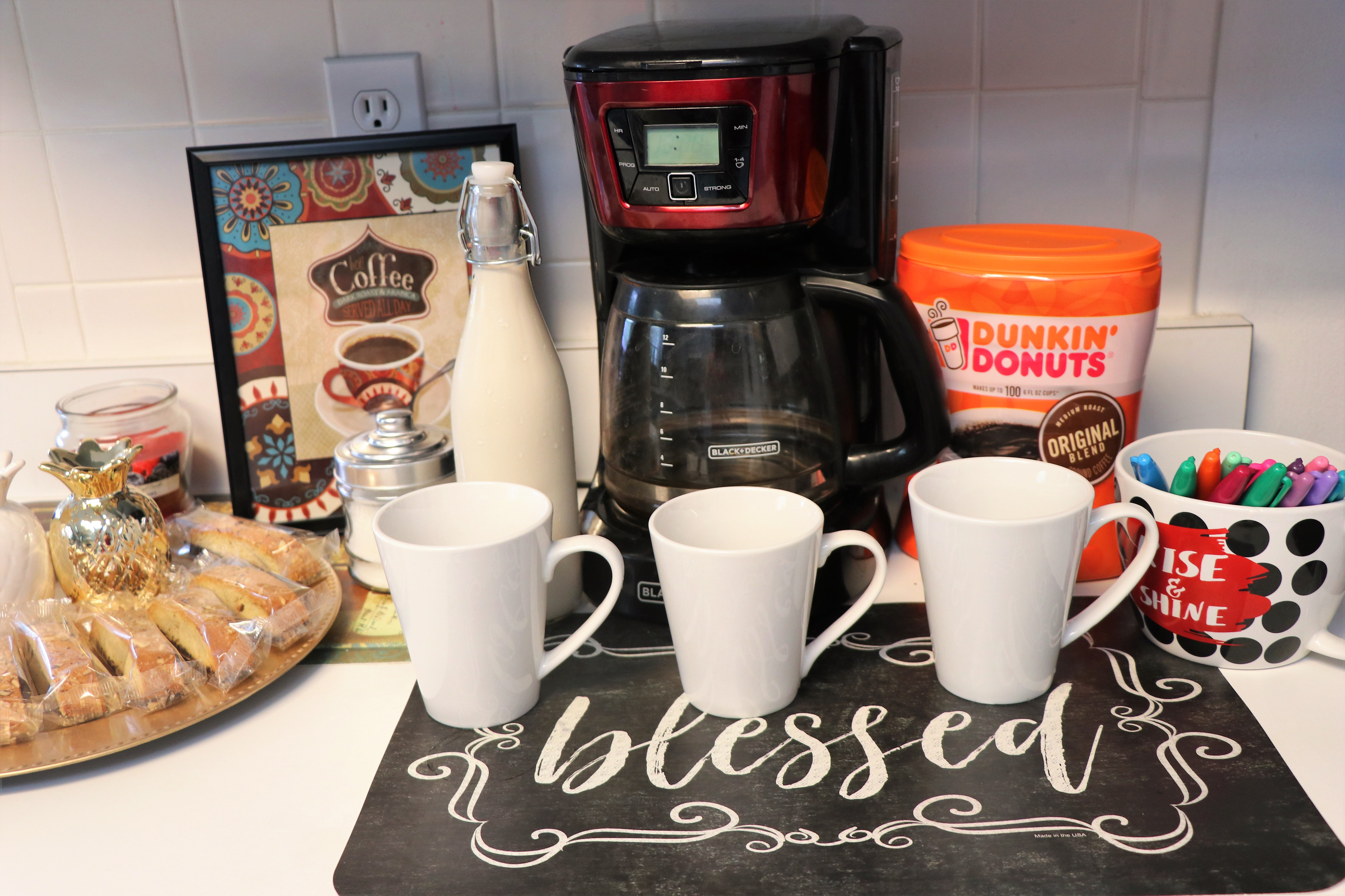 Coffee Bar Ideas For Party How To Host A Girls 39 Night In Coffee Bar Party The