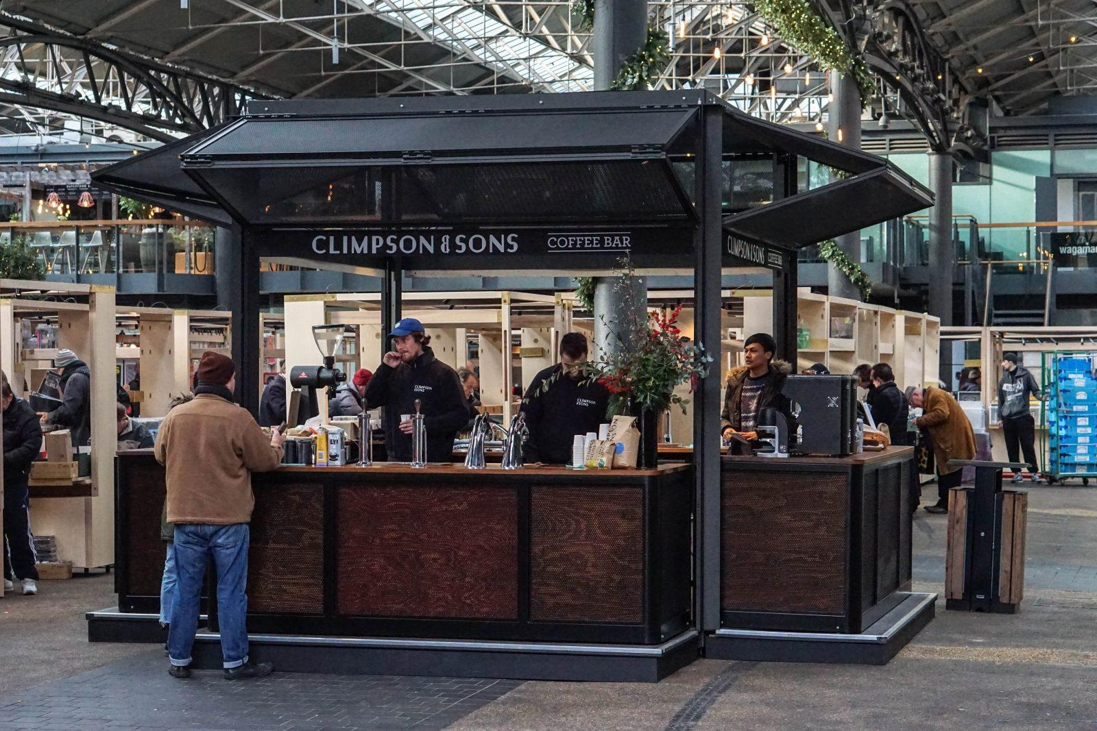 Spitalfields Restaurants Climpson Sons Old Spitalfields Market London Reviewed By The