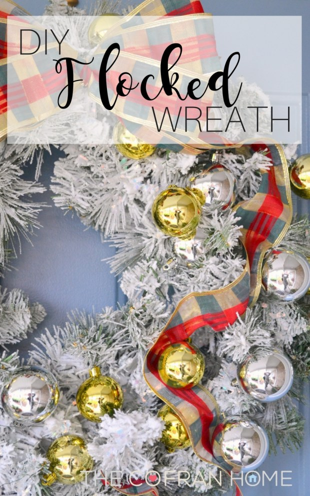 diy-flocked-wreath