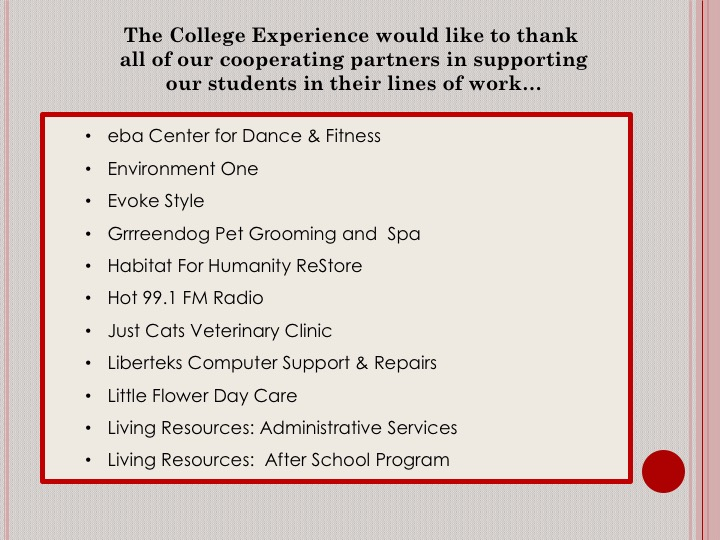Internships/Job Experience The College Experience