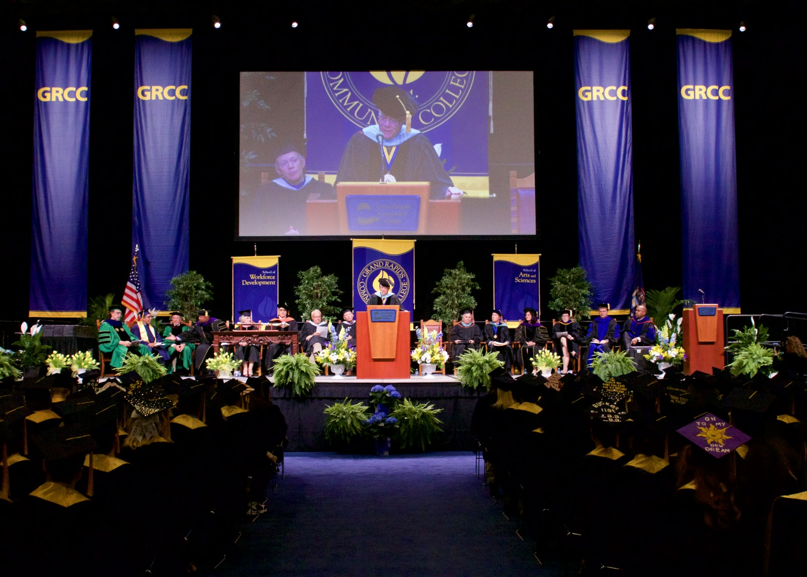 Grcc Hosts 100th Commencement Ceremony The Collegiate Live